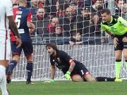 Kreuzbandriss und Eigentor: Genuas bitteres 0:1 gegen die Roma