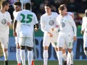 Wolfsburgs Herrmann mit Traumfreistoß gegen die Rowdies