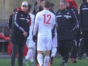 Fortuna Köln dreht den Test gegen das Helmes-Team