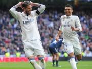Real siegt wieder: Kroos liefert, Sergio Ramos vollendet