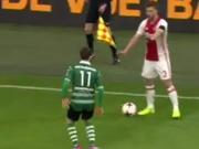 Hässlicher Trick: Ajax-Profi schockt Fußballfans