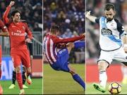 Top-Tore Europas - mit Torres, Cavani und Higuain