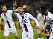 Sechs Tore in Lyon: Olympique dreht spät auf