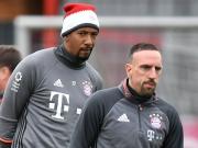 Bayern-Duo zurück - Ribery als Option gegen den HSV