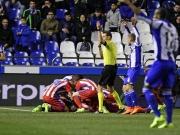 Atletico: Mageres Remis und ein Torres-Schreck