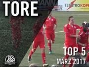 Die Top 5 Tore aus dem Ruhrgebiet - März 2017