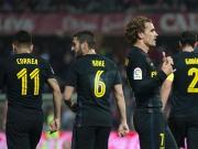 Bayer-Fans hingeschaut: Griezmann tanzt spät