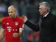 Robben lässt Frust raus - Ancelotti beschwichtigt
