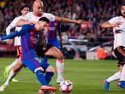 Valencia leistet Widerstand - Doppelpack Messi