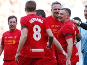 Legendenduell: Gerrard trifft bei der Rückkehr nach Anfield