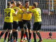 Augsburg drückt - Bayreuth trifft und siegt per Abstauber