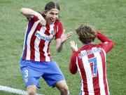 Atletico: drei Tore und zwei vergebene Elfmeter