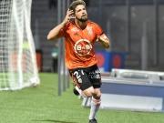 Lorients Cabot zieht Metz mit nach unten