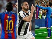 Messi doppelt dabei: Top-Tore aus Europa