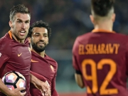 Roma auf CL-Kurs: Zweimal Salah, Dzeko sauer