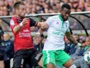 Kopfball, Elfmeter - und St. Etienne gewinnt