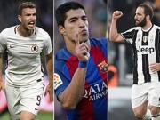 Top-Tore Europas mit Suarez, Higuain und Dzeko