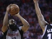Ausgleich - Rockets souverän gegen Spurs