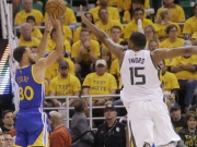 Greens Triple-Double, Currys 30: Warriors problemlos weiter