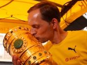 Trotz Dissens: BVB-Pokalparty am Borsigplatz