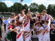 Pokal der B-Junioren für die Boys in Brown