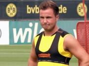 Der Rückkehrer: Mario Götze zurück im Training