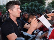 Hoeneß versichert: Lewandowski bis 2021 beim FC Bayern
