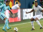Valencia verstolpert - Neymar sagt Danke