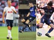 Top-Tore Europas mit Kane, Cavani und Jovetic