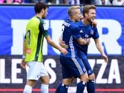 HSV mit 1:1-Generalprobe: Hahn vergibt Elfer