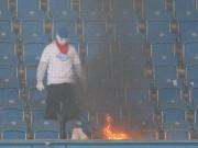 Eklat in Rostock - Pokalspiel gegen Hertha kurz vor Abbruch