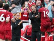 Abpraller als Vorlage: Liverpool glücklich zum Arbeitssieg