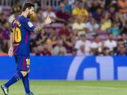 Messi im Pech, Barça siegt dennoch