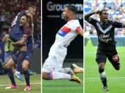 Top-Tore mit Neymar, Fekir, Malcom und Kurzawa