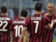 Milan kann sich bei Kalinic bedanken