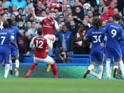 Mustafis Abseitstor, Ramsey trifft den Pfosten, Luiz sieht Rot