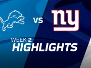 Lions vs. Giants - Highlights