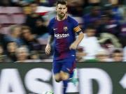 Hinten ter Stegen, vorne Messi, Messi, Messi, Messi