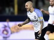 Icardi rettet Inter einen Punkt