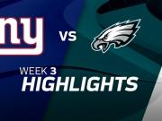 New York Giants vs. Philadelphia Eagles Highlights