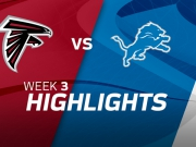 Atlanta Falcons vs. Detroit Lions - Highlights