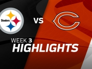 Pittsburgh Steelers vs. Chicago Bears highlights