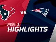 Houston Texans vs. New England Patriots highlights
