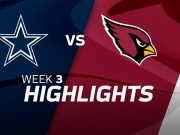 Dallas Cowboys vs. Arizona Cardinals Highlights