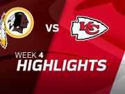 Washington Redskins vs. Kansas City Chiefs Highlights