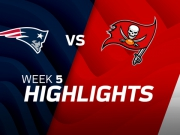 New England Patriots vs. Tampa Bay Buccaneers Highlights