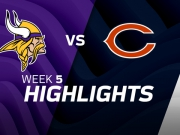 Minnesota Vikings vs. Chicago Bears Highlights