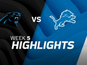 Carolina Panthers vs. Detroit Lions Highlights