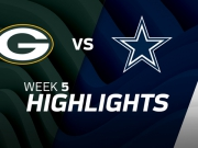 Green Bay Packers vs. Dallas Cowboys Highlights