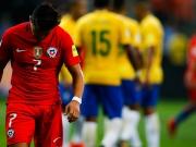 Bravo-Patzer und Empty-Net-Tor: Chile scheitert in Brasilien